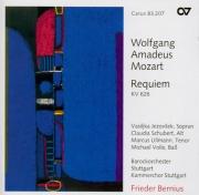 MOZART - Bernius - Requiem pour solistes, chœur et orchestre en ré mineu