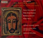 BACH - Wöldike - Passion selon St Matthieu(Matthäus-Passion), pour soli