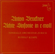 BRUCKNER - Kempe - Symphonie n°8 en ut mineur WAB 108