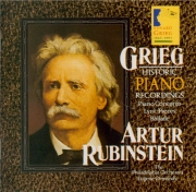 GRIEG - Rubinstein - Concerto pour piano en la mineur op.16