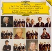 BEETHOVEN - LaSalle Quartet - Sonate pour piano op.14 n°1 : transcriptio Transcriptions pour quatuor à cordes