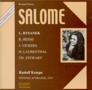 STRAUSS - Kempe - Salomé, opéra op.54 (Live Orange, 14 - 07 - 1974) Live Orange, 14 - 07 - 1974