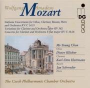 MOZART - Chon - Sinfonie concertante pour hautbois, clarinette, cor, bas