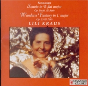SCHUBERT - Kraus - Sonate pour piano en si bémol majeur D.960