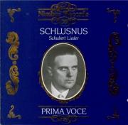 SCHUBERT - Schlusnus - Erlkönig (Goethe), lied pour voix et piano op.1 D
