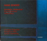 ZENDER - Cambreling - Schuberts 'Winterreise'