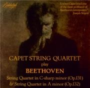BEETHOVEN - Capet Quartet - Quatuor à cordes n°14 op.131