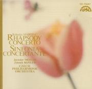 MARTINU - Motlik - Rhapsodie concerto, pour alto et orchestre H.337