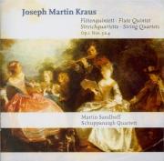 KRAUS - Sandhoff - Quintette avec flûte en ré majeur VB.188