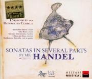 HAENDEL - Assemblée des h - Sonate en trio, pour violon et alto avec bas