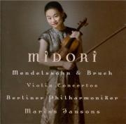 MENDELSSOHN-BARTHOLDY - Midori - Concerto pour violon et orchestre en mi