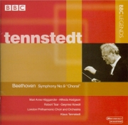 BEETHOVEN - Tennstedt - Symphonie n°9 op.125 'Ode à la joie'