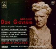 MOZART - Walter - Don Giovanni (Don Juan), dramma giocoso en deux actes live Salzburg, 2 - 8 - 1937