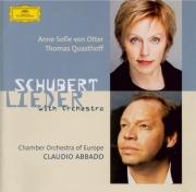 SCHUBERT - Von Otter - Lieder avec orchestre