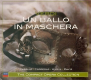 VERDI - Davis - Un ballo in maschera (Un bal masqué), opéra en trois act