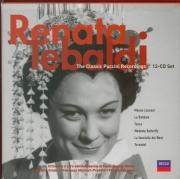 Puccini par Tebaldi : 6 opéras complets