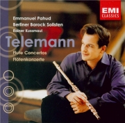 TELEMANN - Pahud - Concerto pour 2 flûtes traversières et basse, cordes