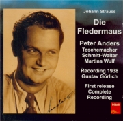 STRAUSS - Görlich - Die Fledermaus (La chauve-souris), opérette WoO RV.5 Stuttgart 20 - 02 - 38