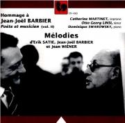 Mélodies de Satie, Wiener, Barbier