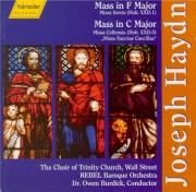 HAYDN - Burdick - Missa brevis en fa majeur, pour deux sopranos, choeur m
