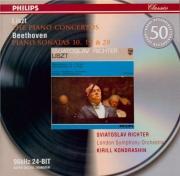 LISZT - Richter - Concerto pour piano et orchestre n°1 en mi bémol majeu