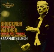 BRUCKNER - Knappertsbusch - Symphonie n°8 en ut mineur WAB 108