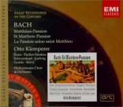 BACH - Klemperer - Passion selon St Matthieu (Matthäus-Passion), pour so
