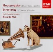 MOUSSORGSKY - Muti - Tableaux d'une exposition, pour piano