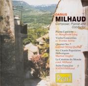 Darius Milhaud, compositeur, pianiste et chef d'orchestre