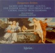 BRITTEN - Layton - Five flower songs, pour choeur mixte a cappella op.47