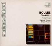BOULEZ - Ensemble Musiqu - Domaines