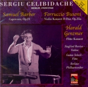 BARBER - Celibidache - Capricorn concerto op.21