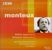 BRAHMS - Monteux - Symphonie n°3 pour orchestre en fa majeur op.90