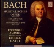 BACH - Gatti - L'offrande musicale(Musikalisches Opfer), pour flûte, cl