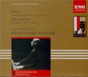 BACH - Furtwängler - Concerto brandebourgeois n°3 pour orchestre en sol