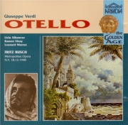 VERDI - Busch - Otello, opéra en quatre actes (live Net 18 - 12 - 1948) live Net 18 - 12 - 1948