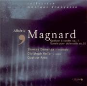 MAGNARD - Artis Quartet - Quatuor à cordes op.16