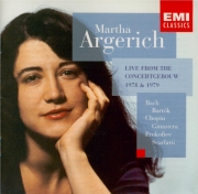 BACH - Argerich - Partita pour clavier n°2 en do mineur BWV.826 Live from the Concertgebouw 1978 & 1979