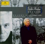 BRAHMS - Fischer-Dieskau - Ernste Gesänge, quatre chants sérieux pour ba