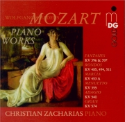 MOZART - Zacharias - Fantaisie pour piano en ré mineur K.397 (K6.385g)