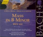 BACH - Rilling - Messe en si mineur, pour solistes, chœur et orchestre B Vol.70