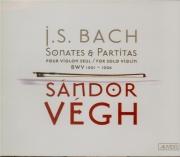 BACH - Vegh - Sonates et partitas pour violon seul BWV 1001-1006