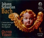 L'oeuvre pour orgue Vol.5 : 1723-1750
