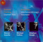 BRAHMS - Collins - Trio pour piano, violoncelle, clarinette ou alto en l