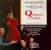 RAVEL - Quatuor Rosamon - Quatuor à cordes en fa majeur