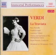 VERDI - Panizza - La traviata, opéra en trois actes (Live MET 5 - 1 - 35) Live MET 5 - 1 - 35