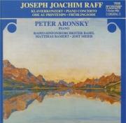 RAFF - Meier - Konzertstück pour piano et orchestre op.76 'Ode au printe