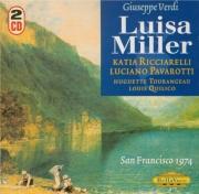 VERDI - Lopez-Cobos - Luisa Miller, opéra en trois actes Live San Francisco, 29 - 11 - 1974