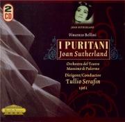 BELLINI - Serafin - I puritani (Les puritains) (live Palermo 1961) live Palermo 1961