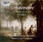 STRAVINSKY - Craft - Le baiser de la fée, ballet allégorique en 4 tablea